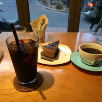 Photo taken at 전광수 Coffee House by P4n0 K. on 2/15/2015
