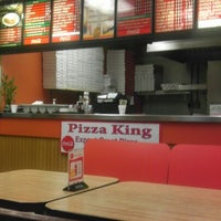 Photo taken at Pizza king by Isaac A. on 11/5/2012