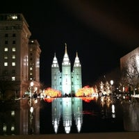 Photo taken at Temple Square by Kirk C. on 11/30/2012