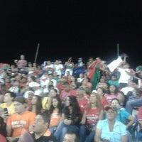 Photo taken at Estadio Kenny Serracín by César S. on 4/23/2014