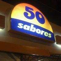 Photo taken at Sorveteria 50 Sabores by Matheus L. on 2/13/2013