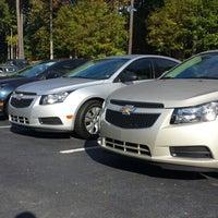 Photo taken at Hendrick Chevrolet by Carlon on 10/21/2013