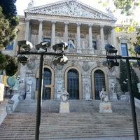 Photo taken at Biblioteca Nacional de España by Josep C. on 11/1/2012