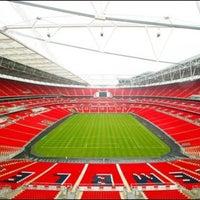 Photo taken at Wembley Stadium by Fab B. on 6/2/2013