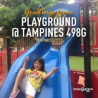Photo taken at Playground @ Tampines 498G by Andre W. on 7/4/2013