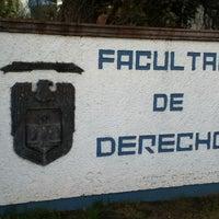 Photo taken at Facultad de Derecho by Alejandro J. on 1/31/2013