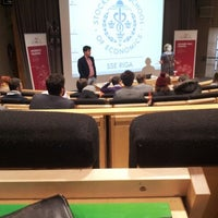 Photo taken at SSE Riga | Stockholm School of Economics by Angel H. on 12/9/2012
