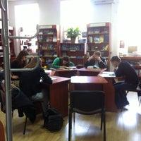 Photo taken at Книгарня «Є» by Lesia M. on 9/25/2013