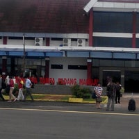 Photo taken at Tampa Padang Airport (MJU) by Suluh T. on 12/17/2015