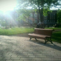 Photo taken at Parc Sir-Wilfrid-Laurier by Eric M. on 5/9/2013
