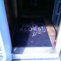 Photo taken at Frite Alors! by Eric M. on 5/25/2014