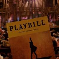Photo taken at Hamilton: An American Musical by Jen P. on 8/18/2018