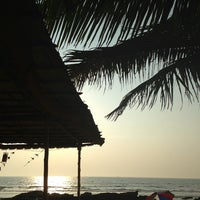 Photo taken at Ashwem Beach by Aizhan S. on 2/12/2013