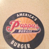 Photo taken at Pappas Burger by Gathan B. on 11/6/2012