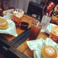 Photo taken at Stackers Burger Café by Ana S. on 7/28/2013