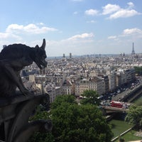 Photo taken at Cathedral of Notre Dame de Paris by Duygu H. on 7/9/2013