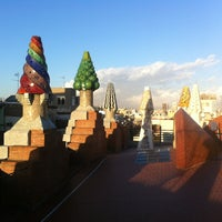 Photo taken at Palau Güell by Andrew M. on 1/17/2013