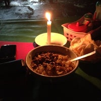 Photo taken at Bubur Ayam Jakarta Mang Dudung by Fitrian y. on 1/6/2013