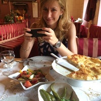Photo taken at Pirosmani Georgian Restaurant by Anya P. on 5/22/2014