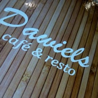 Photo taken at Dawiel's Cafe & Resto by Diana S. on 6/24/2016