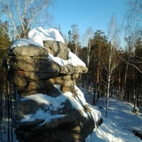 Снимок сделан в Скалы «Чертово Городище» пользователем Алексей С. 2/16/2013
