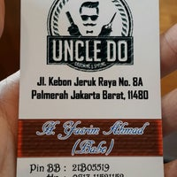 Photo taken at Uncle Do Barbershop by Edy J. on 12/22/2013
