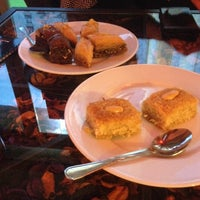 Photo taken at Al Melook Sweets by Mihaela C. on 3/6/2014