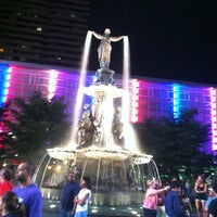 Photo taken at Fountain Square by WhatUpWally? on 7/7/2013