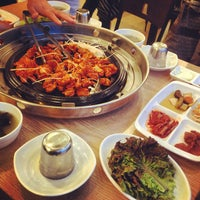 Photo taken at 대흥정육점식당 Daeheong korean beef restaurant by Juliet A. on 10/2/2014