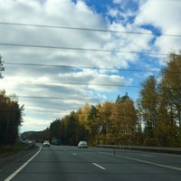 Photo taken at Лес (Полушкино) by Nika D. on 10/20/2015