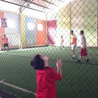 Photo taken at Futsal 1818 Ceria by Reinhard S. on 5/1/2014