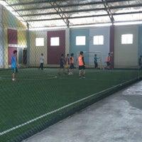 Photo taken at Futsal 1818 Ceria by Reinhard S. on 6/1/2014