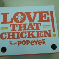 Photo taken at Popeye's Chicken & Biscuits by K P. on 8/21/2013