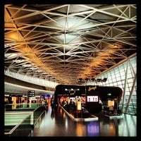 Photo taken at Zurich Airport (ZRH) by Pascal C. on 9/21/2013