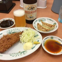 Photo taken at 日高屋 八丁堀新大橋通店 by neo_yamabusi on 5/9/2016