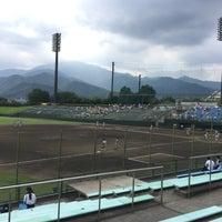Photo taken at いせはらサンシャインスタジアム by neo_yamabusi on 7/18/2016
