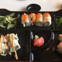 Photo taken at Bento Asian Kitchen +Sushi (Bento Red) by Lauren O. on 10/3/2017