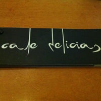 Photo taken at Café Delicias by Jorge on 1/5/2013