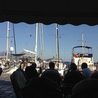 Photo taken at Port of Pythagoreio Harbor by Margarita S. on 9/2/2013