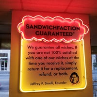 Photo taken at Which Wich Superior Sandwiches by justin l. on 1/26/2014