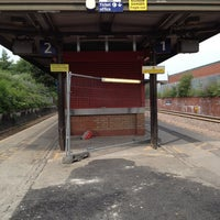 Photo taken at Salford Crescent Railway Station (SLD) by Tanvir H. on 7/22/2013