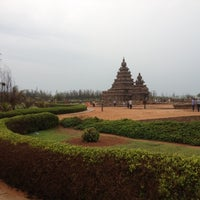 Photo taken at Shore Temple by Muthukumaran M. on 12/2/2012
