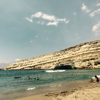 Photo taken at Matala by George P. on 8/14/2017