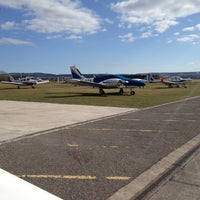 Photo taken at Tayside Aviation by Dylan W. on 4/13/2013