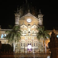 Photo taken at Chhatrapati Shivaji Terminus by Nebozhenko E. on 3/13/2013
