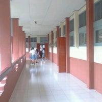 Photo taken at SMK Negeri 3 Manado by Ralphy P. on 1/16/2013