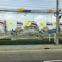 Photo taken at วัดอ้อน้อย by Muai K. on 2/21/2016
