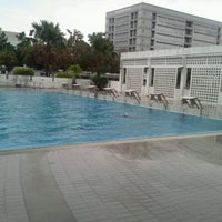 Photo taken at TOT Sport Complax@Swimming Pool by Muai K. on 10/8/2012