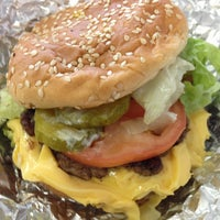 Photo taken at Five Guys by Danny B. on 3/17/2013