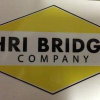 Photo taken at HRI Bridge by Garrett J. on 5/17/2013